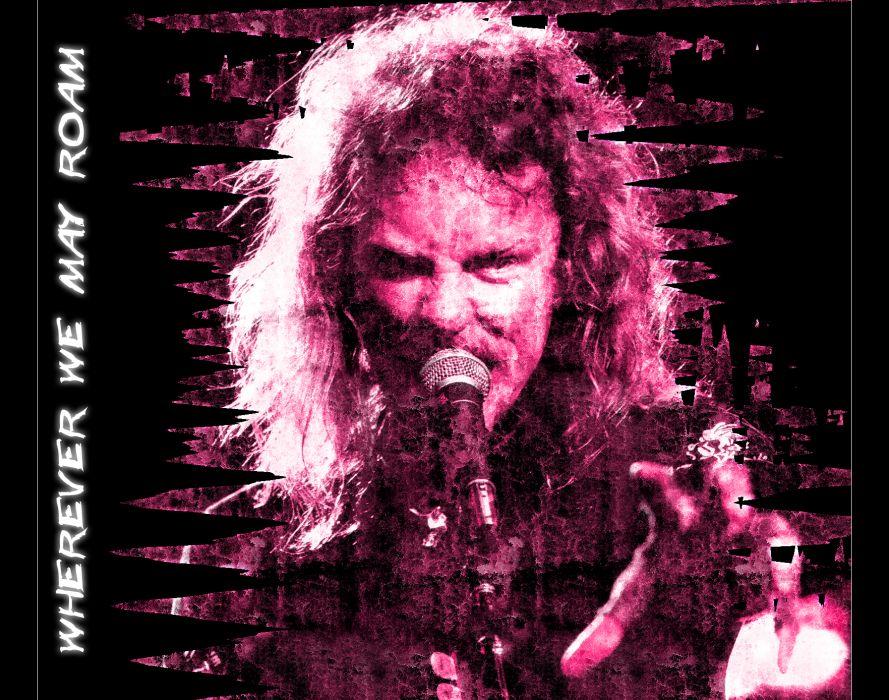 METALLICA thrash metal heavy album cover art concert concerts microphone   fs wallpaper