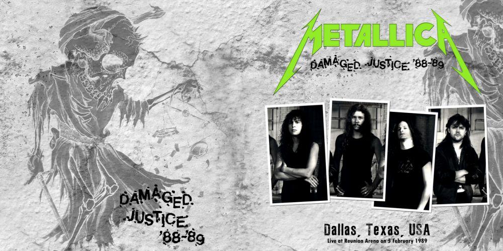 METALLICA thrash metal heavy album cover art dark skull skulls poster posters e wallpaper