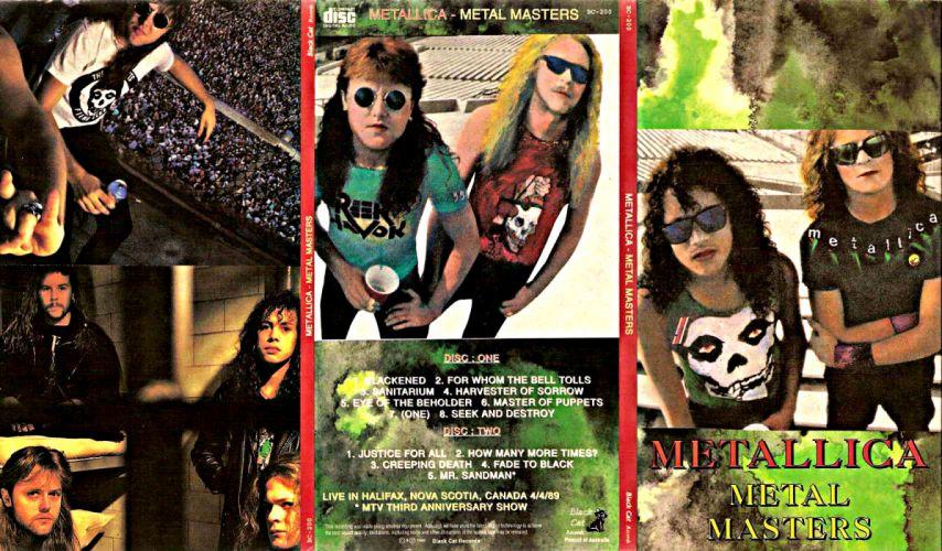 METALLICA thrash metal heavy album cover art posters poster ft wallpaper
