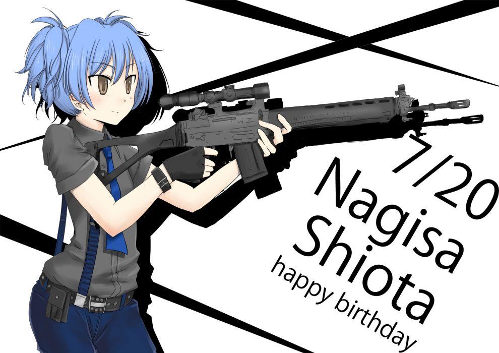 Assassination Classroom Shiota Nagisa wallpaper