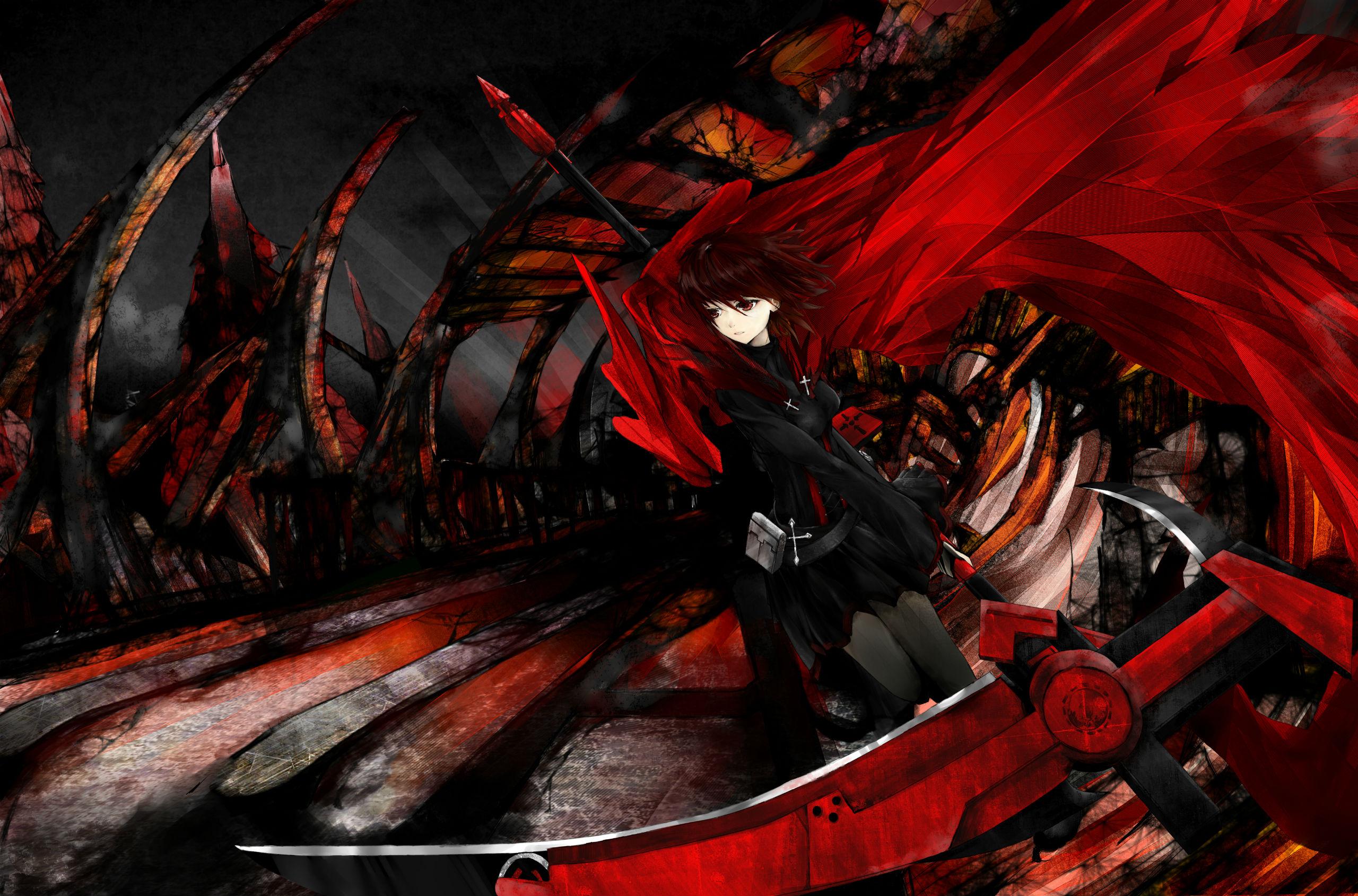 rwby anime scythe wallpaper - photo #9