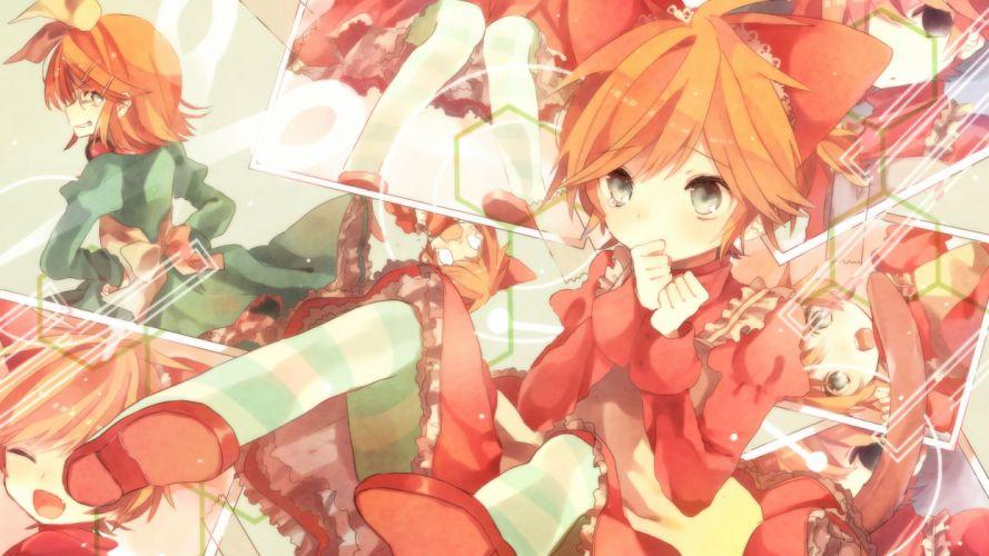 Vocaloid Kagamine Twins wallpaper