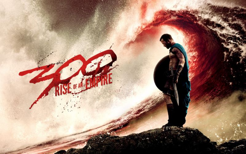 300 Rise of an Empire Wave Sword Spartan wallpaper