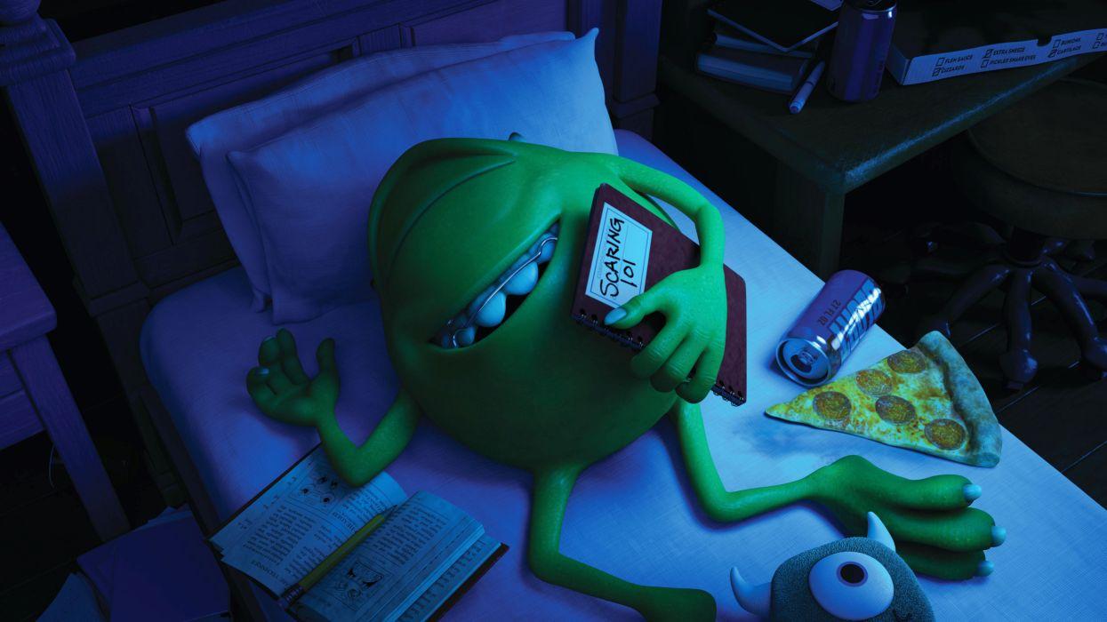 Disney Pixar Monsters University inc wallpaper