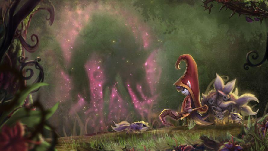 League of Legends Lulu Fairy fantasy wallpaper