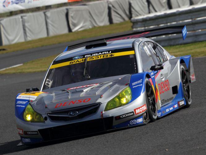 2009 Subaru Legacy B-4 GT300 race racing ge wallpaper