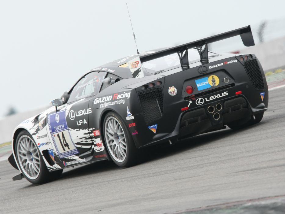 2009 GAZOO-Racing Lexus LF-A 24-hour Nurburgring race racing tuning      f wallpaper