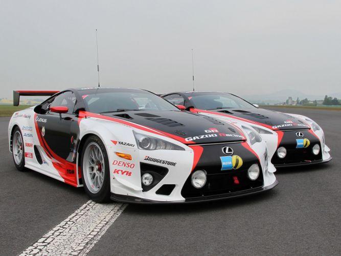 2009 GAZOO-Racing Lexus LF-A 24-hour Nurburgring race racing tuning gl wallpaper