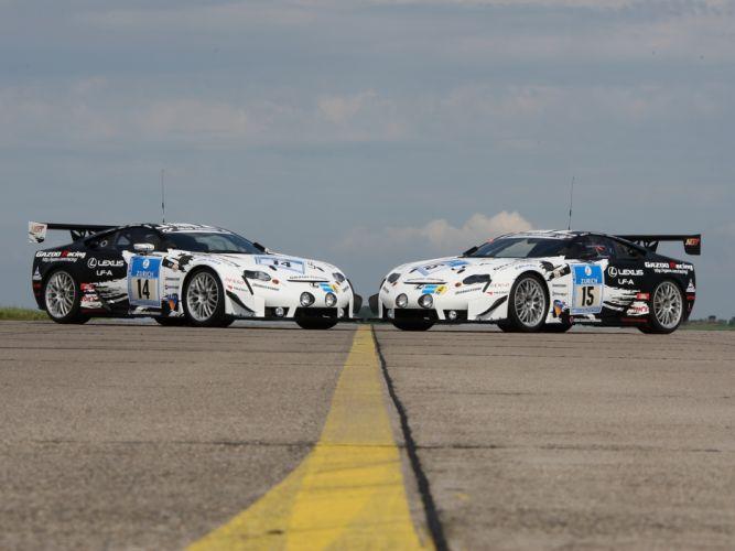 2009 GAZOO-Racing Lexus LF-A 24-hour Nurburgring race racing tuning g wallpaper