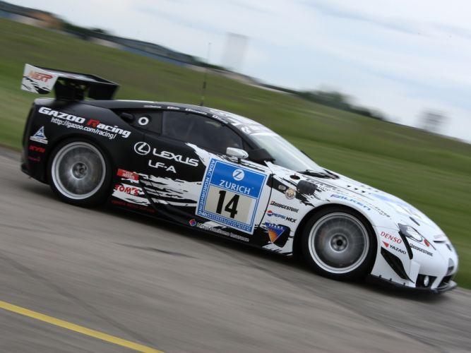 2009 GAZOO-Racing Lexus LF-A 24-hour Nurburgring race racing tuning h wallpaper