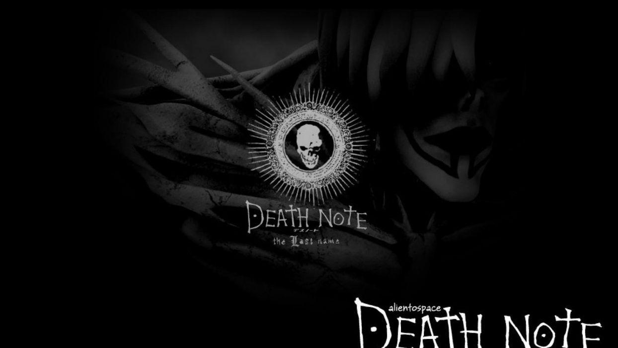 death note skull logo wallpaper