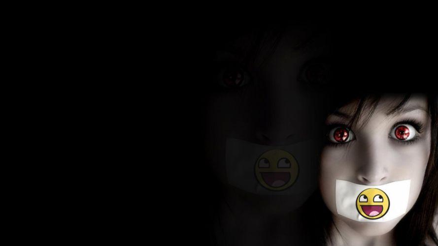 Disturbed Im Alive nu-metal heavy humor smiley eyes mood wallpaper