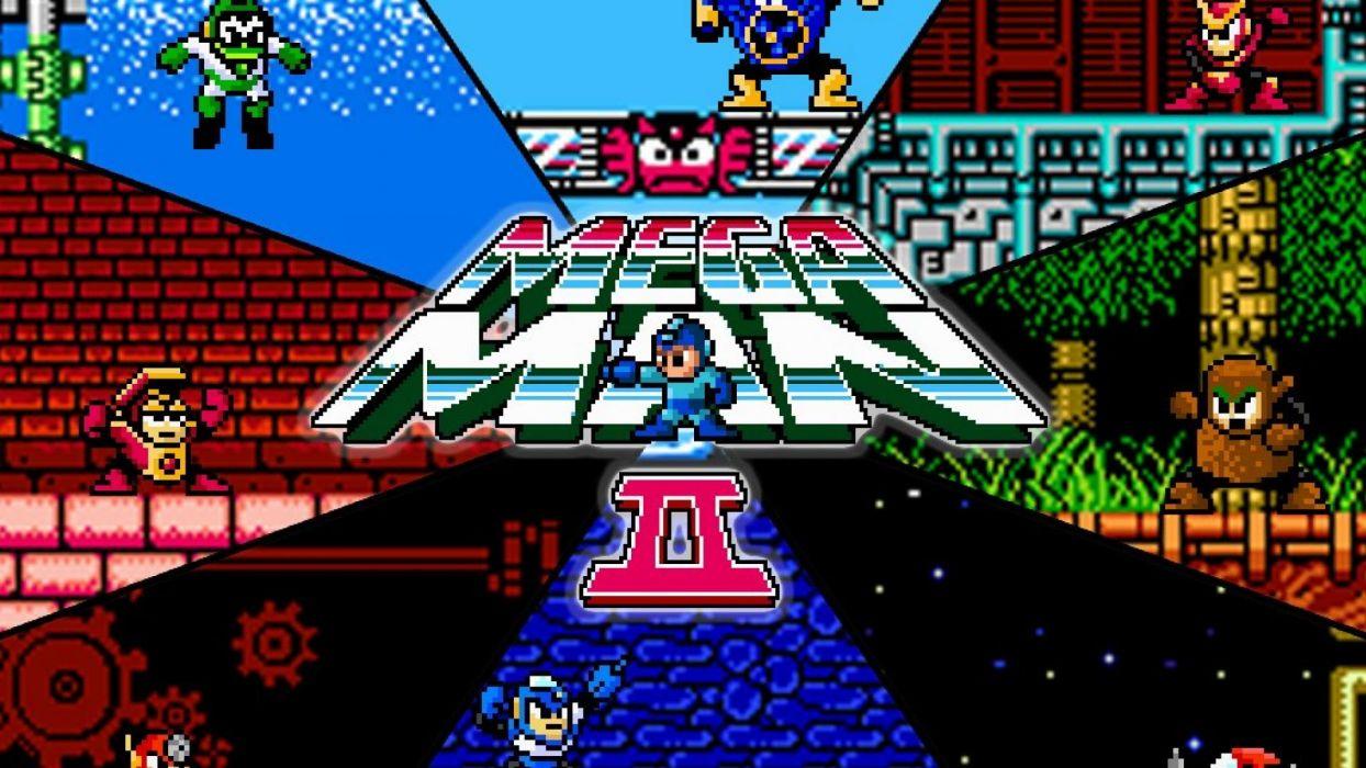 nintendo video games megaman mega wallpaper