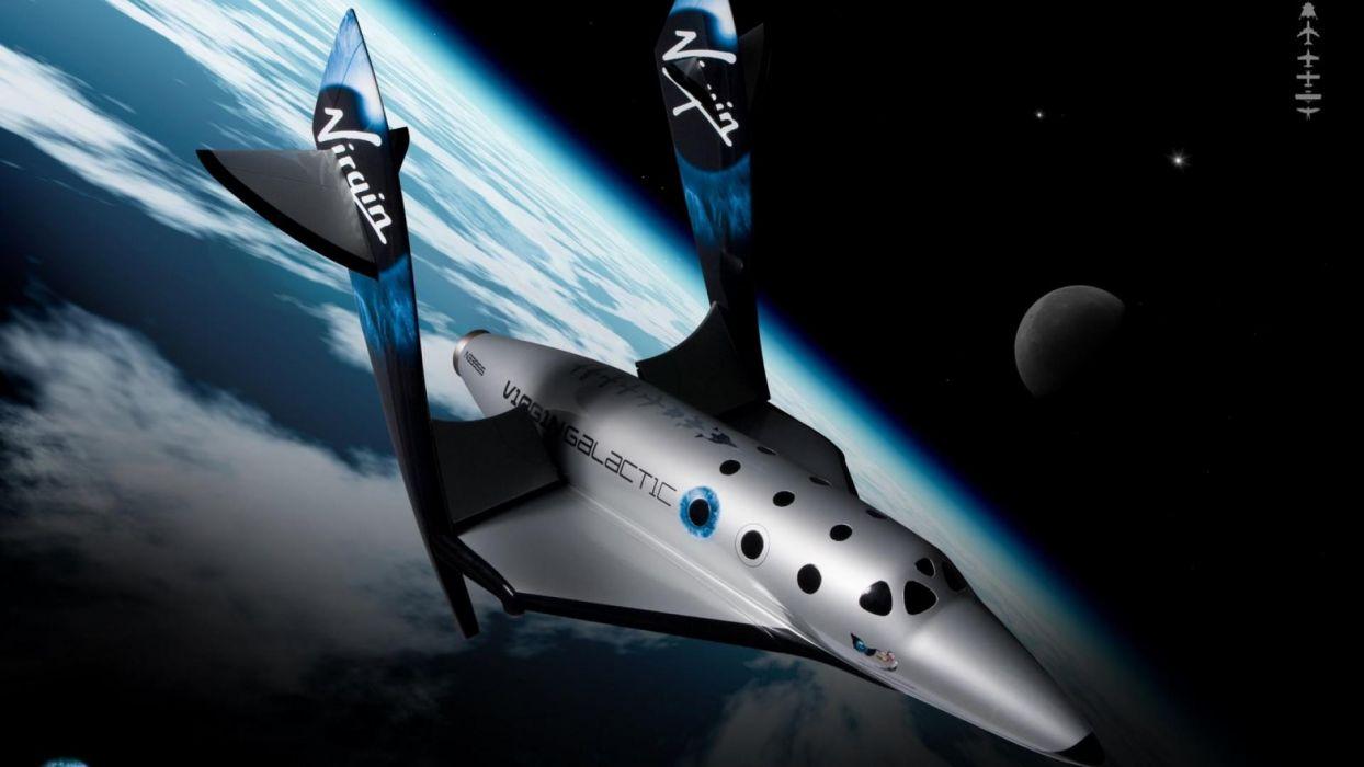 virgin galactic spaceship wallpaper
