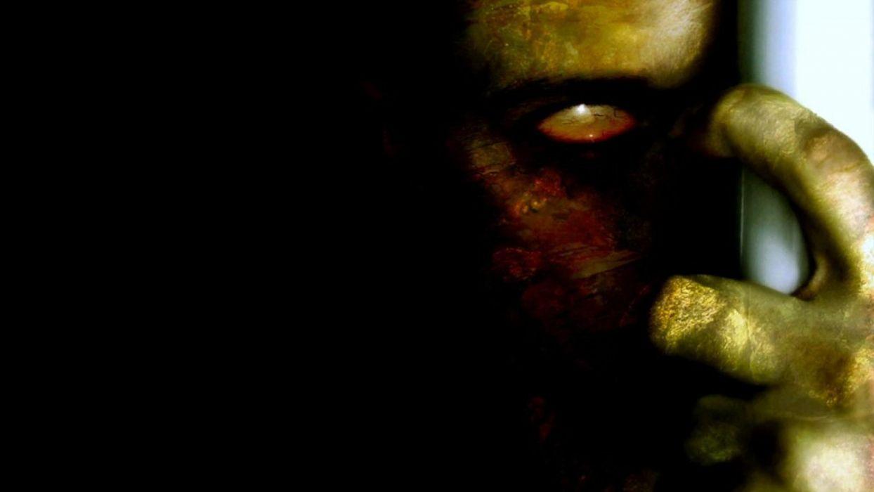 zombie horror fantasy scary wallpaper