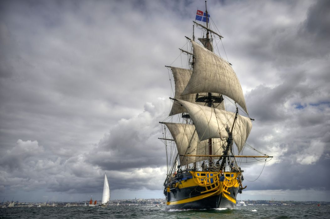 Sail Ship wallpaper