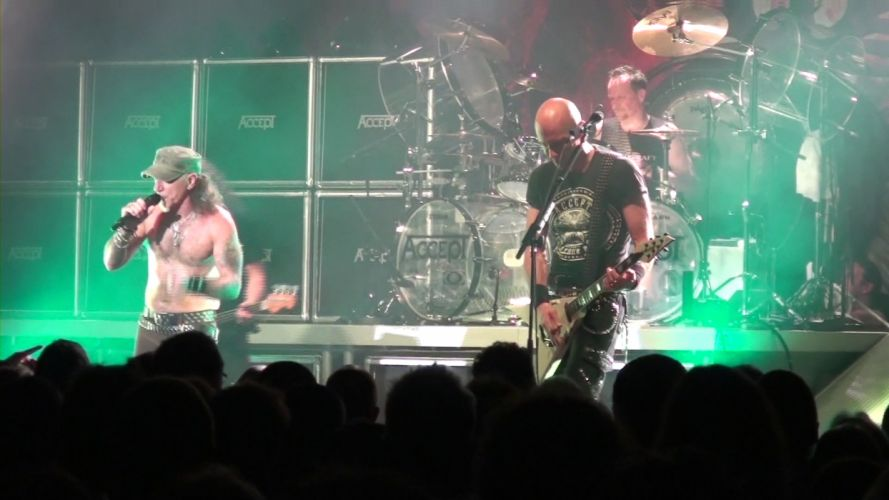 ACCEPT heavy metal concert concerts f wallpaper