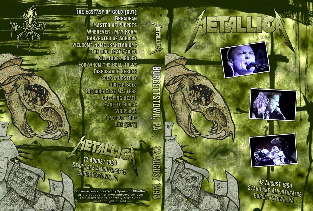 METALLICA thrash heavy metal          y wallpaper