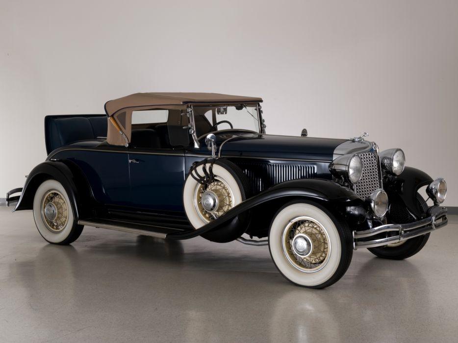 1931 Chrysler C-D Deluxe Eight Roadster retro   da wallpaper