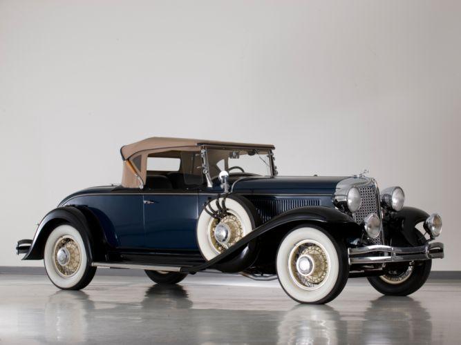 1931 Chrysler C-D Deluxe Eight Roadster retro wallpaper