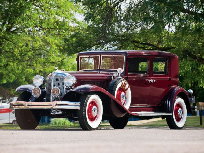 1931 Chrysler Imperial Close-Coupled Sedan retro luxury wallpaper