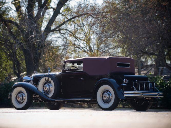 1931 Chrysler Imperial Convertible Victoria luxury retro d wallpaper