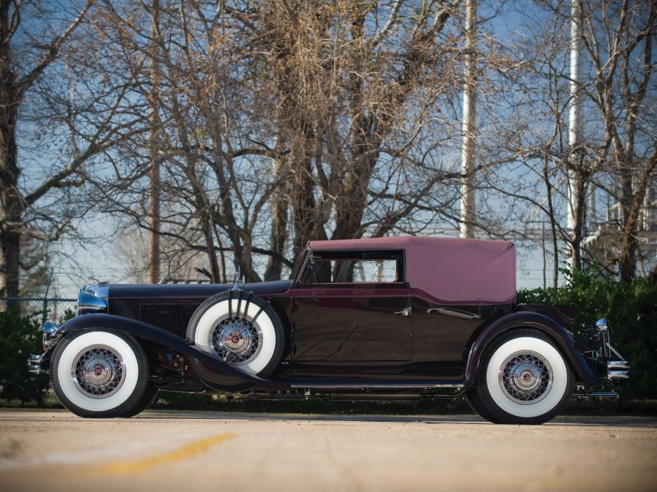 1931 Chrysler Imperial Convertible Victoria luxury retro wheel wheels wallpaper