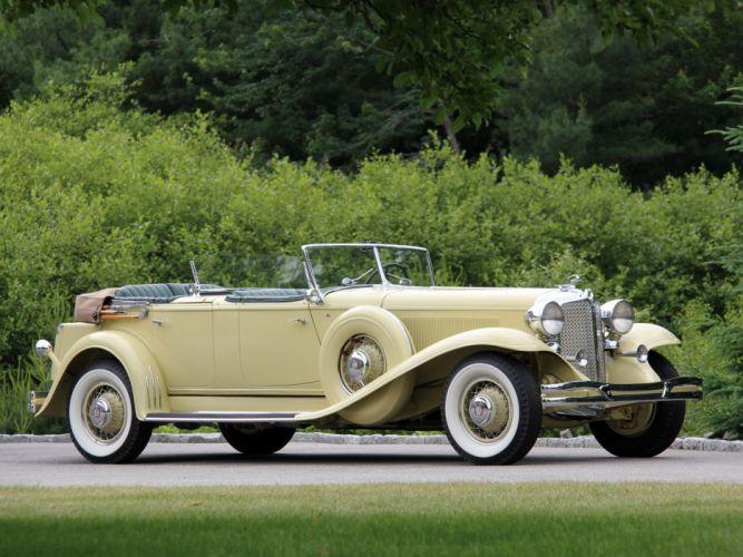 1931 Chrysler Imperial Dual Cowl Phaeton LeBaron luxury retro d wallpaper