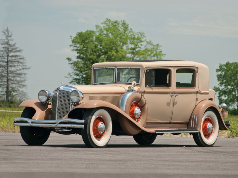 1931 Chrysler Imperial Sedan luxury retro    c wallpaper
