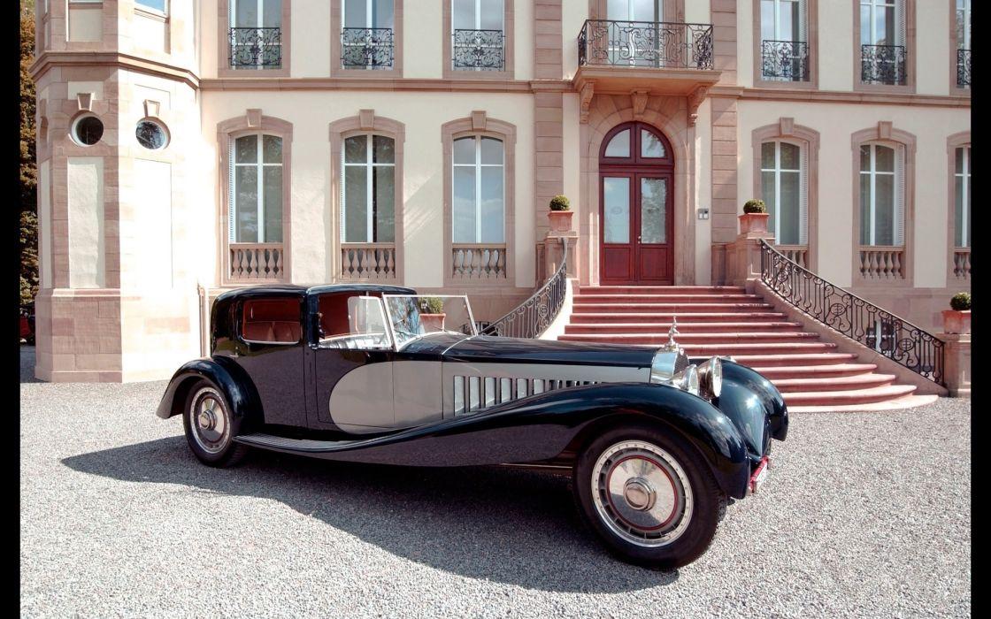 1932 Bugatti Type-41 Royale retro luxury      f wallpaper