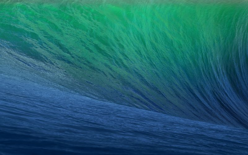 apple osx mavericks mac computer ocean sea waves abstract wallpaper