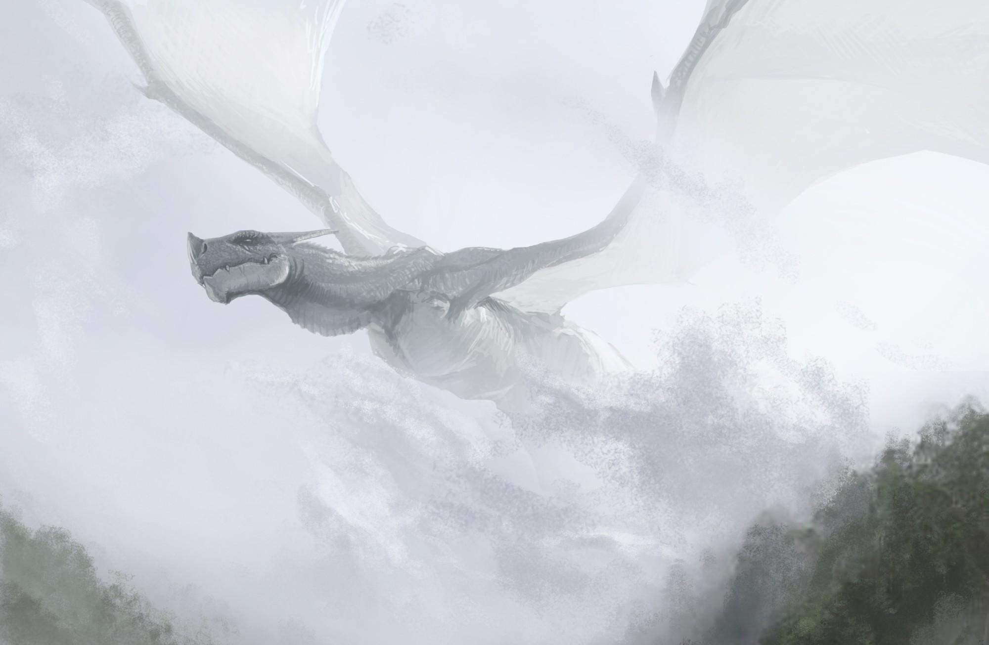 Art dragon flyi... Flying Fantasy Dragons