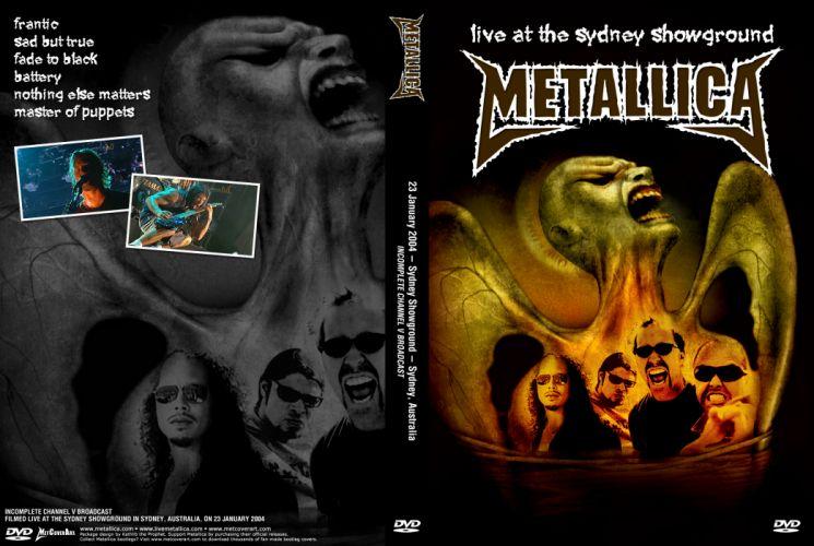 METALLICA thrash heavy metal rg wallpaper