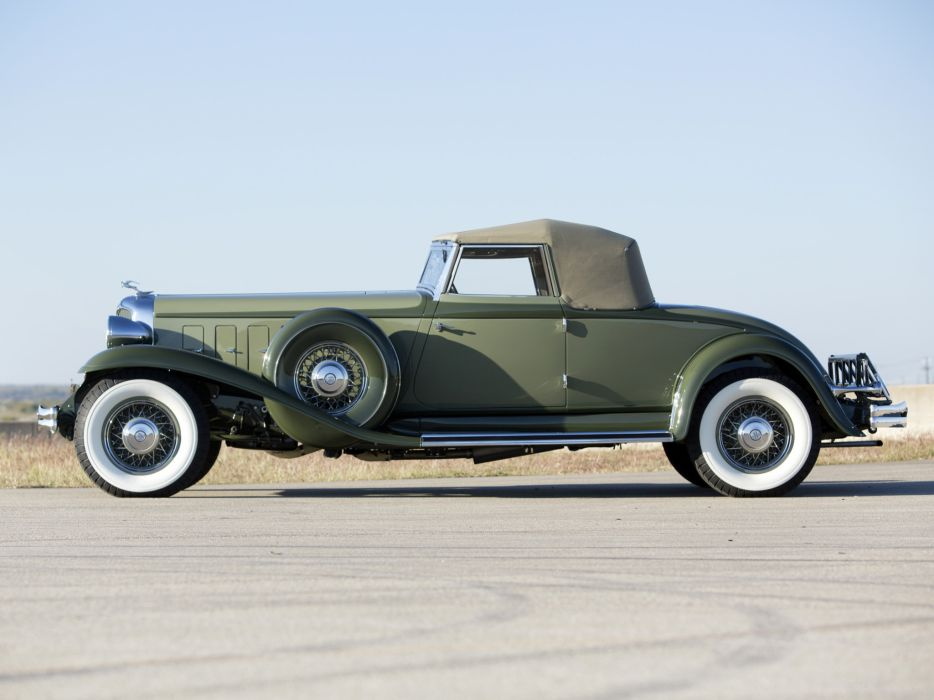 1932 Chrysler Imperial Convertible Coupe LeBaron luxury retro  f wallpaper