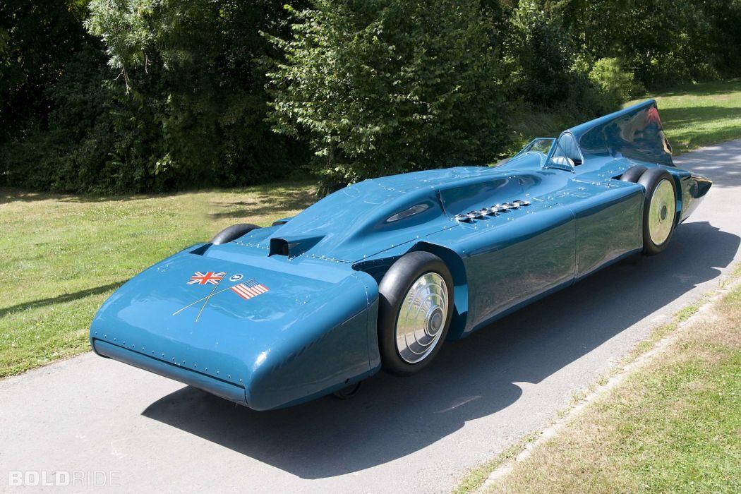 1933 Blue Bird V Five supercar supercars race racing  d wallpaper