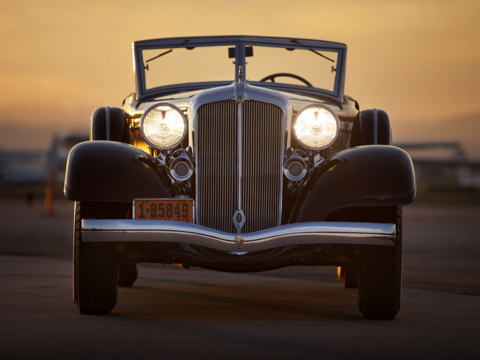 1933 Chrysler Custom Imperial Convertible Coupe LeBaron luxury retro    f wallpaper