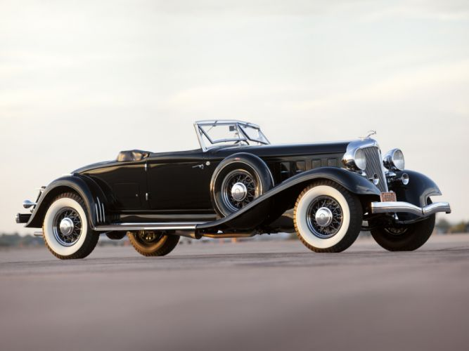 1933 Chrysler Custom Imperial Convertible Coupe LeBaron luxury retro wallpaper