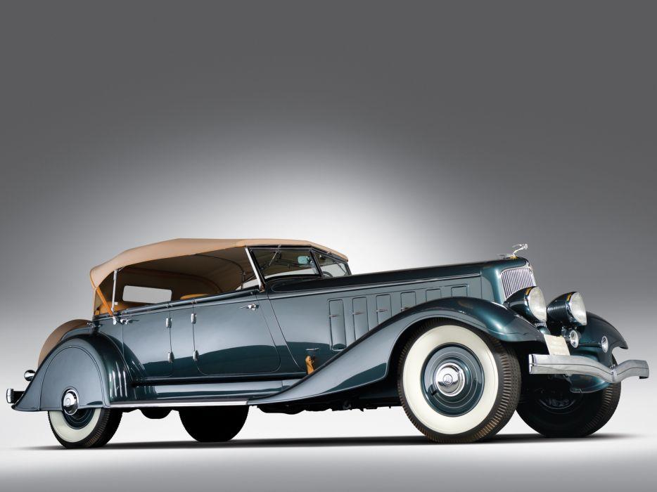 1933 Chrysler Custom Imperial Phaeton LeBaron luxury retro wallpaper