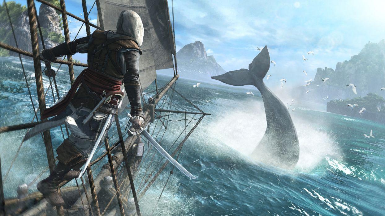 Assassins Creed Iv Black Flag Assassin Pirate Edward Kenuey Edward
