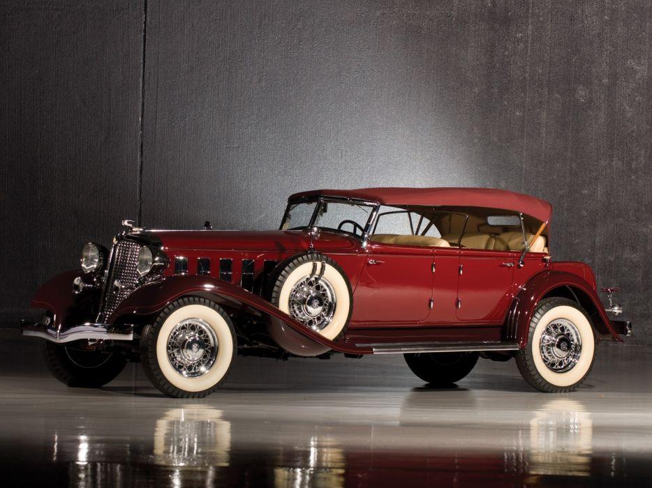 1933 Chrysler Imperial Dual Windshield Sport Phaeton luxury retro    f wallpaper