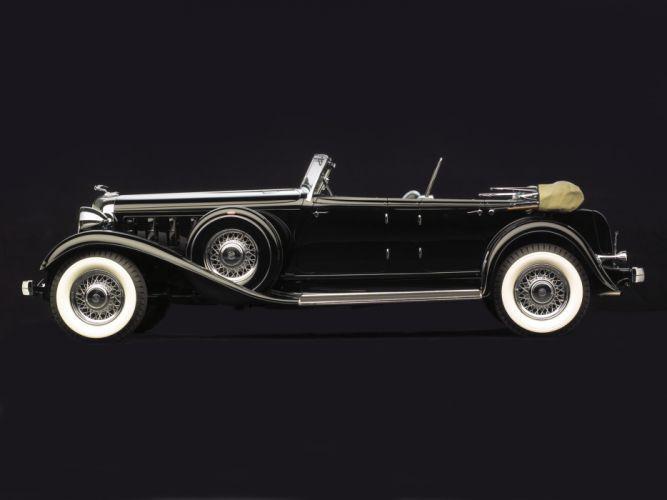 1933 Chrysler Imperial Sport Phaeton LeBaron retro d wallpaper