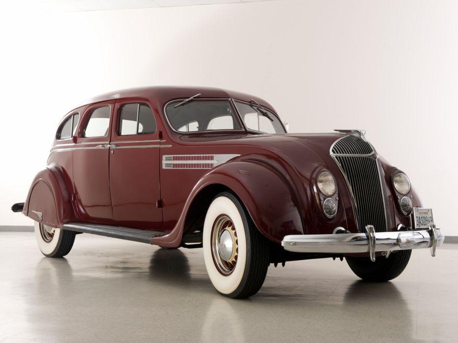 1936 Chrysler Imperial Airflow Sedan retro wallpaper