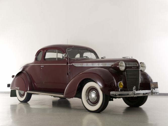 1937 Chrysler Imperial Coupe retro wallpaper