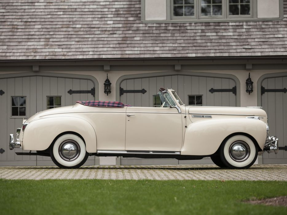 1940 Chrysler New Yorker Highlander retro    f wallpaper