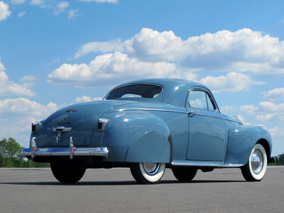 1941 Chrysler Royal Coupe retro    f wallpaper