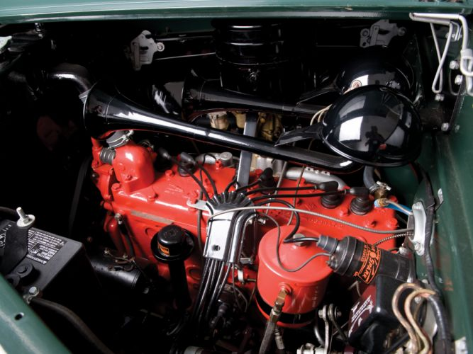 1941 Chrysler Town Country StationWagon retro engine engines f wallpaper