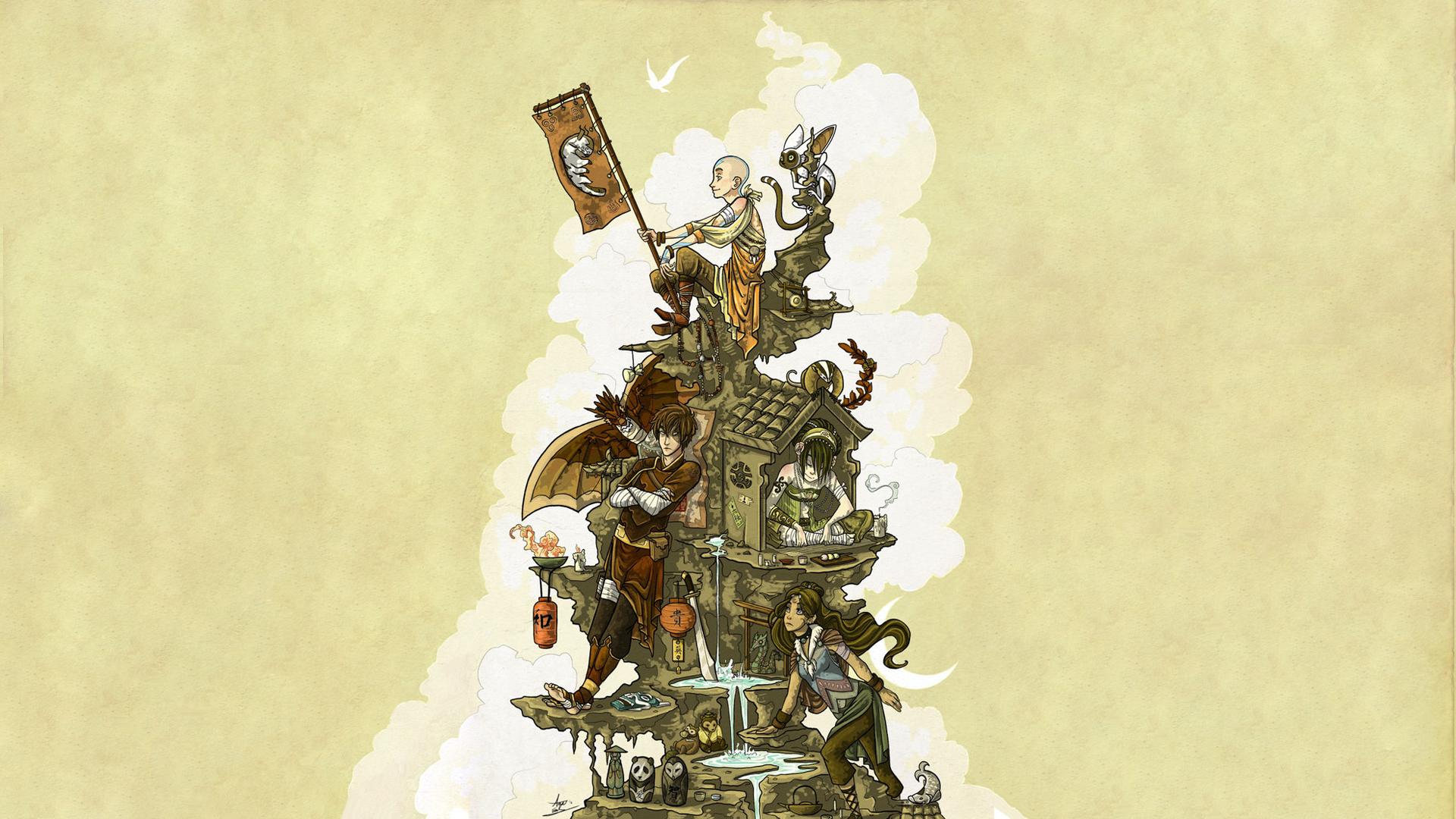 Avatar The Last Airbender da wallpaper | 1920x1080 ...