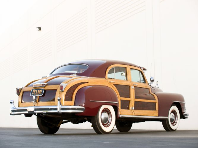 1947 Chrysler Town Country Sedan retro f wallpaper