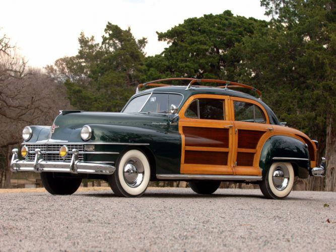 1948 Chrysler Town Country Sedan retro fq wallpaper