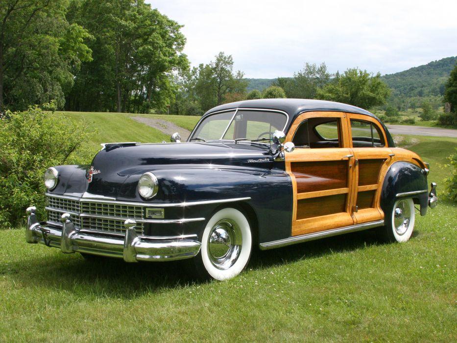 1948 Chrysler Town Country Sedan retro f wallpaper